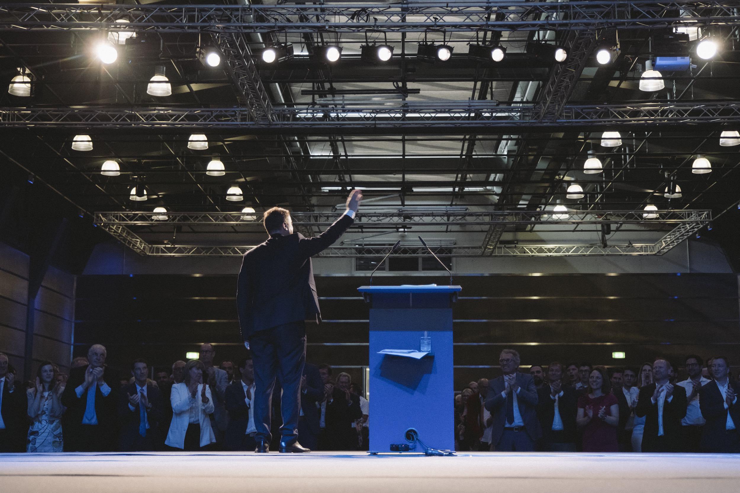 Parteistrukturen Xavier Bettel